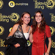 NLD/Amsterdam/20181011 - Televizier Gala 2018, .. en Roma Keerssemeeckers