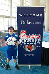 Duke pre-game hospitality prior to the Chick-fil-A Kickoff Game at the Mercedes-Benz Stadium, Saturday, August 31, 2019, in Atlanta. Alabama won 42-3. (Chris Eason via Abell Images for Chick-fil-A Kickoff)