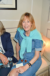 EMMA SOAMES at a party to celebrate the publication of 'A Girl From Oz' by Lyndall Hobbs held at Flat 1, 165 Cromwell Road, London on 12th May 2016.