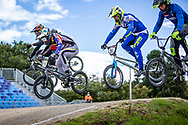 2021 UCI BMXSX World Cup<br /> Round 3 and 4 at Bogota (Colombia)<br /> ^me#201 KENNEDY, Izaac (AUS, ME) <br /> ^me#235 THOUIN, Theo (FRA, ME) DN1 Saint-Brieuc