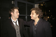 John robyns and Jeff Marks, Opening night of Cameron Mackintosh's new production 'Avenue Q' after-party at Mint Leaf. Suffolk Pl. London. 28 June 2006. ONE TIME USE ONLY - DO NOT ARCHIVE  © Copyright Photograph by Dafydd Jones 66 Stockwell Park Rd. London SW9 0DA Tel 020 7733 0108 www.dafjones.com