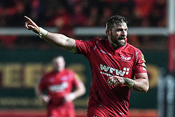 Scarlets' John Barclay - Mandatory by-line: Craig Thomas/Replay images - 26/12/2017 - RUGBY - Parc y Scarlets - Llanelli, Wales - Scarlets v Ospreys - Guinness Pro 14