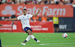 NEW YORK, NEW YORK, USA - Wednesday, July 24, 2019: Liverpool's Joel Matip during a friendly match between Liverpool FC and Sporting Clube de Portugal at the Yankee Stadium on day nine of the club's pre-season tour of America. (Pic by David Rawcliffe/Propaganda)