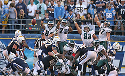 SAN DIEGO, CA - NOVEMBER 15: The Philadelphia Eagles special teams during a game against the San Diego Chargers on November 14, 2009 at Qualcomm Stadium in San Diego, California. The Chargers won 31-23. (Photo by Hunter Martin)