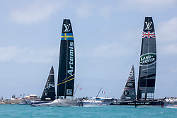 First day of the second round of the Louis Vuitton America's Cup Qualifiers. 30th of May, 2017, Bermuda