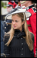 June 10, 2016 - London, United Kingdom - Image licensed to i-Images Picture Agency. 10/06/2016. London, United Kingdom. Lady Amelia Windsor arriving at a National Service of Thanksgiving  to mark the 90th birthday of The Queen at St.Paul's Cathedral in London.  Picture by Stephen Lock / i-Images (Credit Image: © Stephen Lock/i-Images via ZUMA Wire)