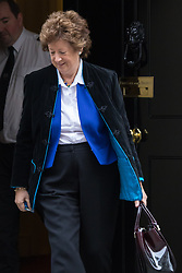 Downing Street, London, January 26th 2016. Minister of State at the Foreign & Commonwealth Office Baroness Anerlay leaves 10 Downing Street following the weekly Cabinet meeting. ///FOR LICENCING CONTACT: paul@pauldaveycreative.co.uk TEL:+44 (0) 7966 016 296 or +44 (0) 20 8969 6875. ©2015 Paul R Davey. All rights reserved.