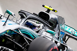 November 10, 2018 - Sao Paulo, Sao Paulo, Brazil - VALTTERI BOTTAS, of Mercedes AMG Petronas, during the free practice session for the Formula One Grand Prix of Brazil at Interlagos circuit, in Sao Paulo, Brazil. The grand prix will be celebrated next Sunday, November 11. (Credit Image: © Paulo LopesZUMA Wire)