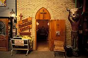 The Travelers Chapel with the door open