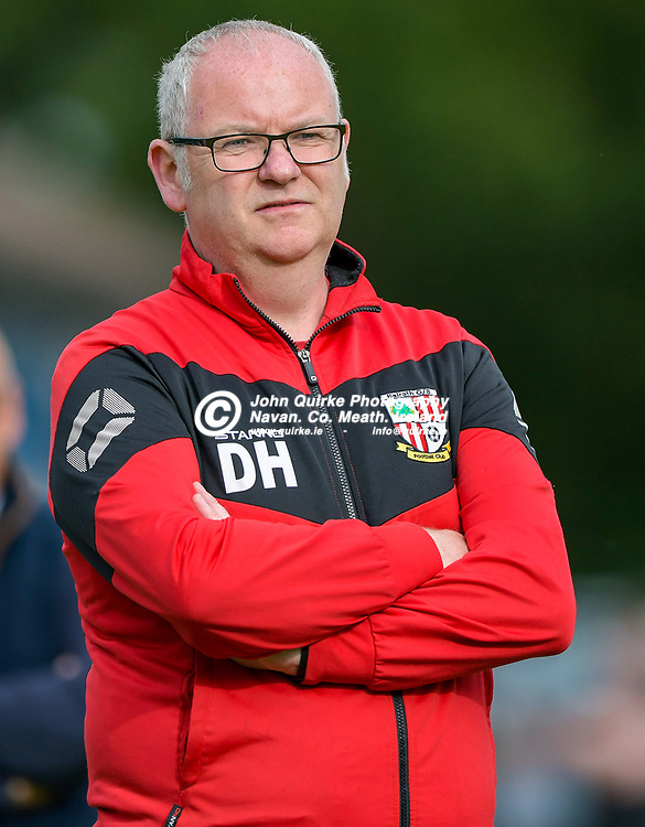 Full Time Score 2 - 2<br /> <br /> Balrath manager, DAve Hewitt,  in the Skryne/Tara v Balrath, North East Football League Women's Div South match, at Ross Cross, Tara.<br /> <br /> Photo: GERRY SHANAHAN-WWW.QUIRKE.IE<br /> <br /> 26-06-2021
