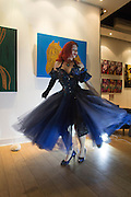 GWENDOLINE LAMAR, Lady  Sandra Bates and Jason Bradbury host 'Lust' a mixed exhibition. La Galleria. Pall Mall.  London 3 September 2013.
