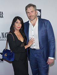 Mike Cernovich and Shawna Cernovich at Death Of A Nation Los Angeles Premiere held at Regal L.A. Live: A Barco Innovation Center on July 31, 2018 in Los Angeles, California, United States (Photo by Jc Olivera for Jade Umbrella)
