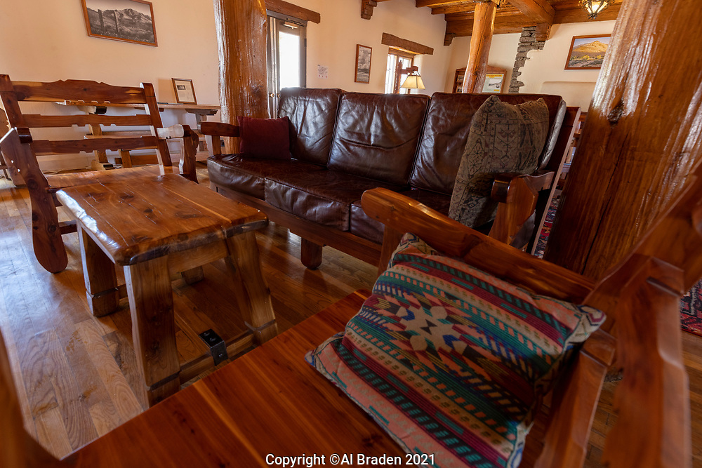 Interior, Indian Lodge