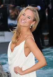 © Licensed to London News Pictures. 31/03/2014, UK. Kimberley Garner, Noah - UK film premiere, Odeon Leicester Square, London UK, 31 March 2014. Photo credit : Richard Goldschmidt/Piqtured/LNP