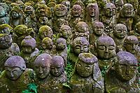 Japon, île de Honshu, région de Kansaï, Kyoto, temple Otagi Nenbutsuji // Japan, Honshu island, Kansai region, Kyoto, Otagi Nenbutsuji temple
