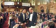 Shorlisted authors, Kazuo Ishiguro and Matthew Kneale.  The Booker prize 2000. Guildhall, London EC2. 7 November 2000. © Copyright Photograph by Dafydd Jones 66 Stockwell Park Rd. London SW9 0DA Tel 020 7733 0108 www.dafjones.com
