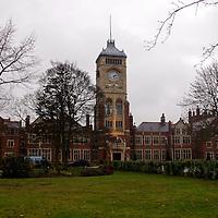 Europe, UK, England, Hertfordshire, Bushey.  Historical building used as setting for Harry Potter - former university, film studio, and currently residential loft development.