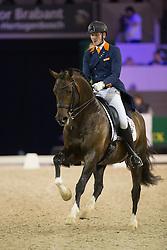 Van Silfhout Diederick, (NED), Arlando NH N.O.P.<br /> Grand Prix CDI 4*<br /> Indoor Brabant - 's Hertogenbosch 2015<br /> © Hippo Foto - Dirk Caremans