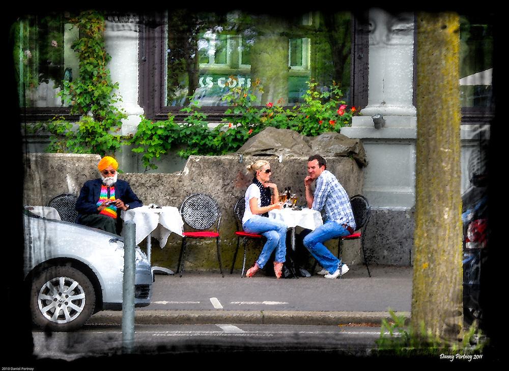 Street cafe in Zürich