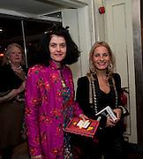 JO KING; VIRGINIA DAMSTA, The South Bank Sky Arts Awards , The Dorchester Hotel, Park Lane, London. January 25, 2011,-DO NOT ARCHIVE-© Copyright Photograph by Dafydd Jones. 248 Clapham Rd. London SW9 0PZ. Tel 0207 820 0771. www.dafjones.com.