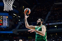 Panathinaikos's player Ioannis Bourousis during match of Turkish Airlines Euroleague at Barclaycard Center in Madrid. November 16, Spain. 2016. (ALTERPHOTOS/BorjaB.Hojas)