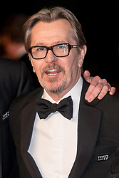 © Licensed to London News Pictures. 18/02/2018. GARY OLDMAN arrives on the red carpet for the EE British Academy Film Awards 2018, held at the Royal Albert Hall, London, UK. Photo credit: Ray Tang/LNP