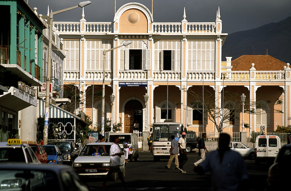The old portuguese governor palace which is now used as a court of law is located on the main Lisboa Street.The old part of town has beautiful examples of colonial architecture and the it is also the most cosmopolitan and cultural of the Cape Verde archipelago.