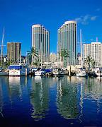 Prince Hotel, Waikiki, Oahu, Hawaii, USA<br />
