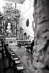 navata centrale della chiesa della Madonna Addolorata, Galatina (LE)