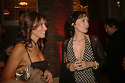 Ella Krasner and Marie Helvin, Champagne reception celebrating 100 years of Chinese cinema  hosted by Hamish McAlpine of Tartan Films, Raising money for Care For Children, a foster care programme in China. Aspreys. New Bond St. London. 25 April 2006. ONE TIME USE ONLY - DO NOT ARCHIVE  © Copyright Photograph by Dafydd Jones 66 Stockwell Park Rd. London SW9 0DA Tel 020 7733 0108 www.dafjones.com