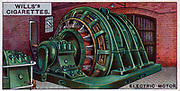 Engineering Wonders, 1927:  Electric motor driving a rolling mill. Britain.