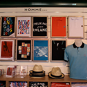 2017 French Open Tennis Tournament.  French Open tennis merchandise for sale at La Boutique at the 2017 French Open Tennis Tournament at Roland Garros on May 25th, 2017 in Paris, France.  (Photo by Tim Clayton/Corbis via Getty Images)