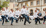 Dancing Procession of Echternach, Whit Tuesday, Luxembourg. The dancing procession in Echternach was inscribed on the UNESCO list of Intangible Cultural Heritage in 2010. © Rudolf Abraham