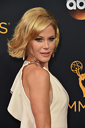 Julie Bowen attends the 68th Annual Primetime Emmy Awards at Microsoft Theater on September 18, 2016 in Los Angeles, California. Photo by Lionel Hahn/ABACAPRESS.COM