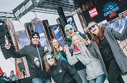 08.01.2020, Goaßstall, Saalbach Hinterglemm, AUT, DJ Oetzi Gipfeltour, im Bild Fans // during the Opening Concert of the DJ Oetzi Gipfeltour at the Goassstall, Saalbach Hinterglemm on 2020/01/08. EXPA Pictures © 2020, PhotoCredit: EXPA/ JFK