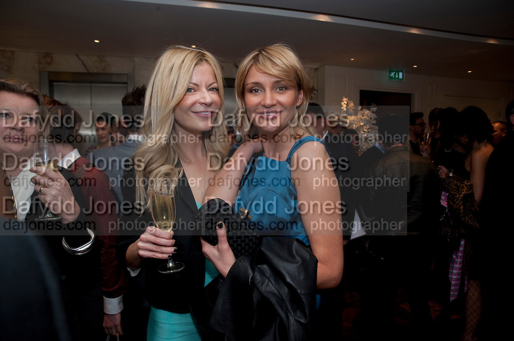 BECI RODIT; IRINA KALUGINA, Book launch party for the paperback of Nicky Haslam's book 'Sheer Opulence', at The Westbury Hotel. London. 21 April 2010