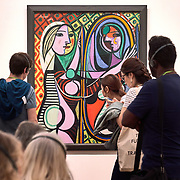 Picasso is shown at the Tate Modern in London, United Kingdom.