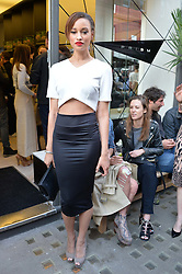 ELARICA GALLACHER at the Prism Boutique Summer Party held at Prism, 54 Chiltern Street, London on 14th May 2014.