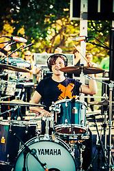 Robert DeLong performs at The Treasure Island Music Festival - San Francisco, CA - 10/19/13