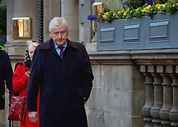 Former Royal Bank of Scotland chief executive Fred Goodwin seen leaving the Balmoral Hotel after attending a Saints and Sinners charity lunch. Pic: Terry Murden @edinburghelitemedia