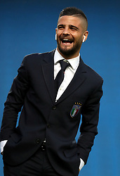 Italy's Lorenzo Insigne