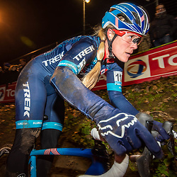 2019-12-29: Cycling: Superprestige: Diegem: Determination of Katie Compton