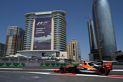 June 23, 2017 - Baku, Azerbaijan - Motorsports: FIA Formula One World Championship 2017, Grand Prix of Europe, .#2 Stoffel Vandoorne (BEL, McLaren Honda) (Credit Image: © Hoch Zwei via ZUMA Wire)