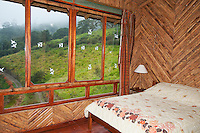 Guest room at San Jorge Eco-Lodge, Tandayapa Valley, Ecuador