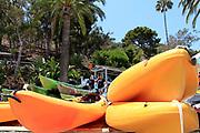 Kayak Rentals at Descanso Beach Ocean Sports on Catalina Island