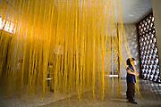 Caracas_VEN, Venezuela...Turista na Galeria de Arte Nacional da Venezuela, na capital Caracas...A tourist in the National Art Galery in Caracas, Venezuela...Foto: JOAO MARCOS ROSA / NITRO