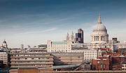 architecture, commissioned, dusk, london, neo bankside, st pauls, thames, views andy spain architectural photography