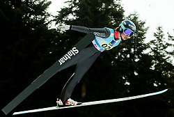 Nina Lussi of USA competes during Team Competition at Day 2 of World Cup Ski Jumping Ladies Ljubno 2019, on February 9, 2019 in Ljubno ob Savinji, Slovenia. Photo by Matic Ritonja / Sportida