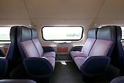 empty seats in train Holland