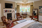 Fauhope Country House Hotel, Gattonside, near Melrose in the Scottish Borders. The hosue, built in 1897,  is run by Ian and Sheila Robson  and has comanding views towards the Eildon Hills,